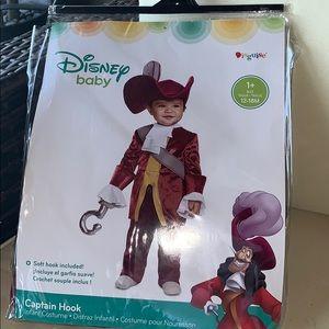 Disney Baby Captain Hook costume